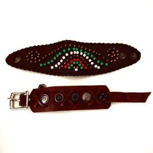 Bundle of Two Western Bracelets